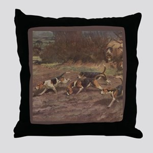 Foxhound Gifts-2 Throw Pillow