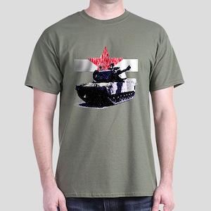 Tank Red Star Custom Green T-Shirt