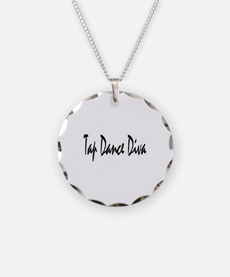 Cute Tap dancer Necklace