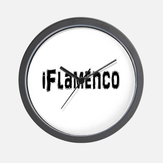 Unique Flamenco Wall Clock