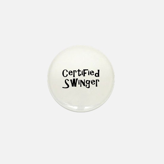 Cute Swing Mini Button