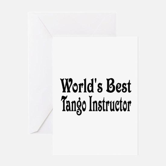 Funny Tango Greeting Card