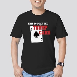 Trump Card Men's Fitted T-Shirt (dark)