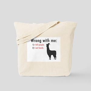 Wrong with Me Tote Bag