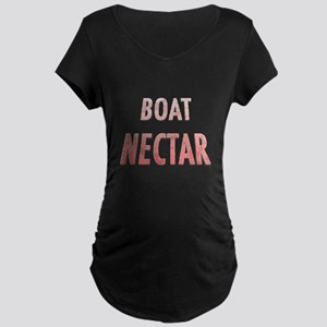 Boat Nectar Maternity Dark T-Shirt