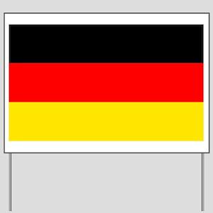 German Flag Yard Sign