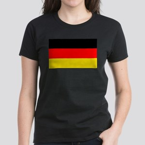 German Flag Women's Dark T-Shirt