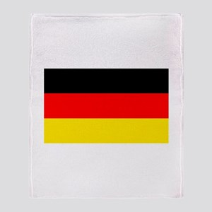 German Flag Throw Blanket