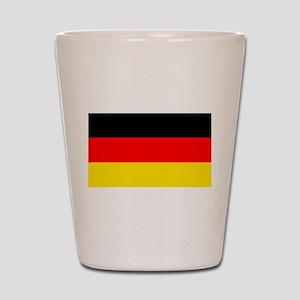 German Flag Shot Glass