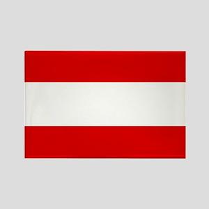 Austrian flag Rectangle Magnet