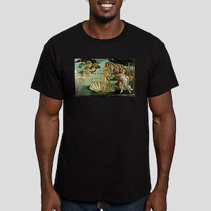 The Birth of Venus Men's Fitted T-Shirt (dark)