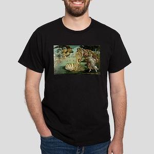 The Birth of Venus Dark T-Shirt