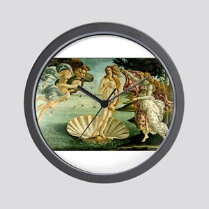 The Birth of Venus Wall Clock