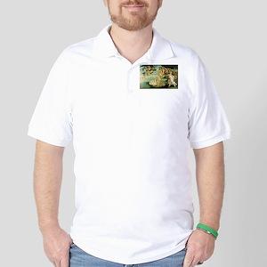 The Birth of Venus Golf Shirt
