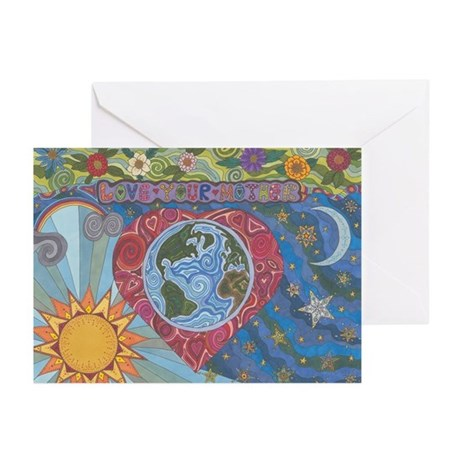 Love Your Mother Greeting Cards (Pk of 20)
