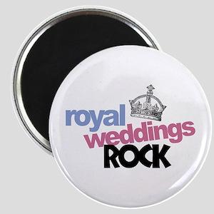 Royal Weddings Rock Magnet