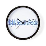 HSP Gifts Wall Clock