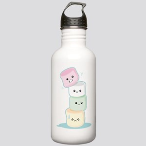 Stacked Marshmallows Stainless Water Bottle 1.0L