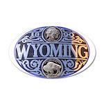 Wyoming 38.5 x 24.5 Oval Wall Peel