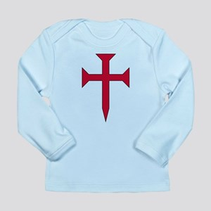 Cross Fichee Long Sleeve Infant T-Shirt