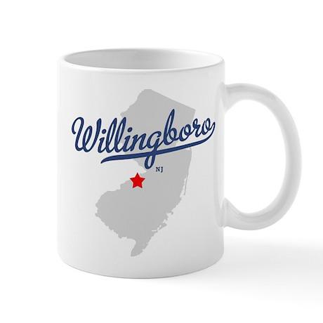 Willingboro, NJ - gray Mug