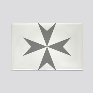 Cross of Malta Rectangle Magnet
