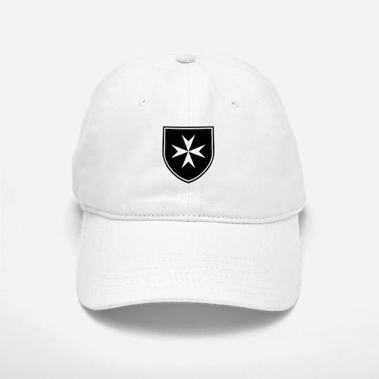 Cross of Malta Baseball Baseball Cap