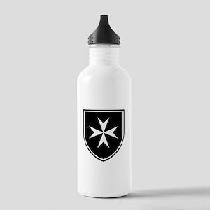 Cross of Malta Stainless Water Bottle 1.0L
