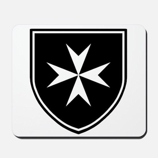 Cross of Malta Mousepad