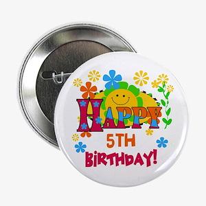 Joyful 5th Birthday Button
