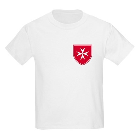Cross of Malta Kid's Light T-Shirt