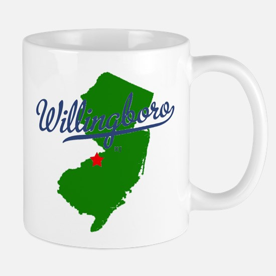 Willingboro, NJ - gray Mug