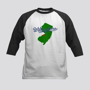 Willingboro, NJ - gray Kids Baseball Jersey