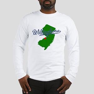 Willingboro, NJ - gray Long Sleeve T-Shirt