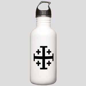 Cross Potent Stainless Water Bottle 1.0L