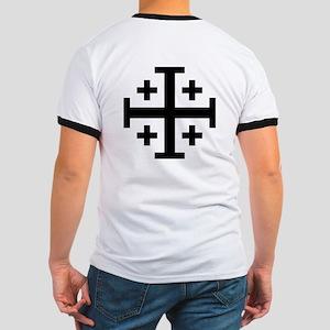 Cross Potent Ringer T