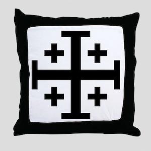 Cross Potent Throw Pillow