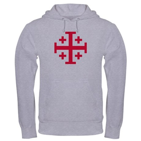 Cross Potent Hooded Sweatshirt