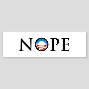 No Obama Sticker (Bumper)