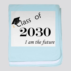 Born in 2012/Class of 2030 baby blanket