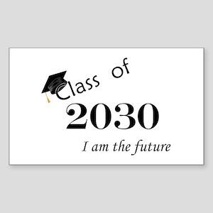 Born in 2012/Class of 2030 Sticker (Rectangle)