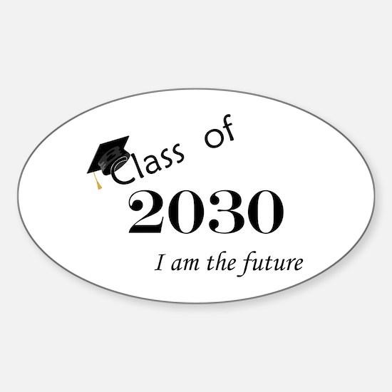 Born in 2012/Class of 2030 Sticker (Oval)