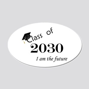 Born in 2012/Class of 2030 20x12 Oval Wall Decal