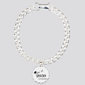 Born in 2012/Class of 2030 Charm Bracelet, One Cha