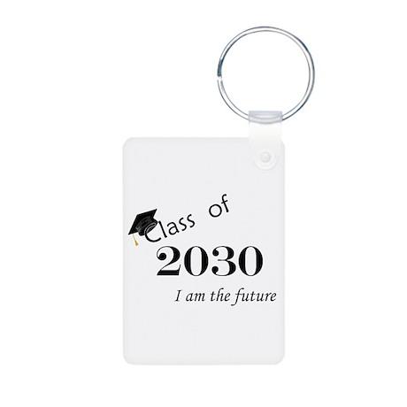 Born in 2012/Class of 2030 Aluminum Photo Keychain