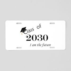 Born in 2012/Class of 2030 Aluminum License Plate