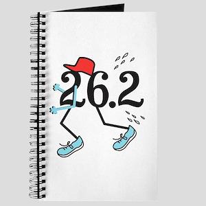 Funny Marathoner 26.2 Journal