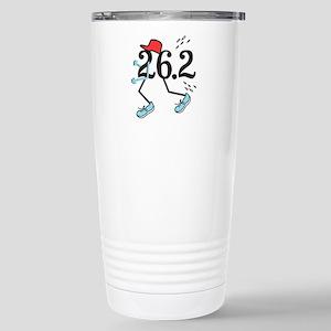 Funny Marathoner 26.2 Stainless Steel Travel Mug