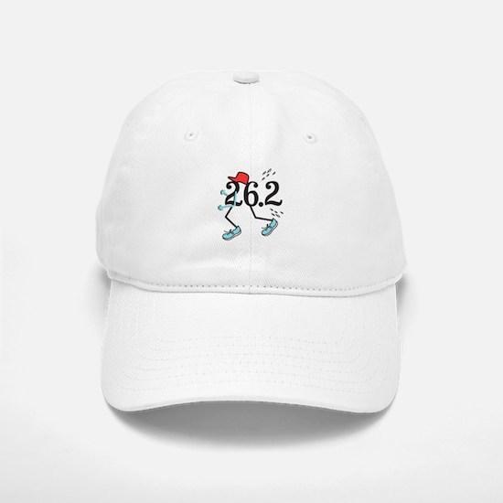 Funny Marathoner 26.2 Baseball Baseball Cap