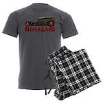 30RatTudor-biohazard Men's Charcoal Pajamas
